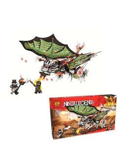 Конструктор Jemlou Ninja Legend 20011 (36) Дракон, 385 деталей [73790]