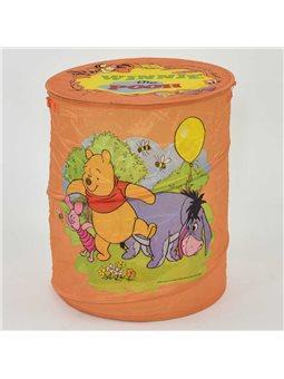 Корзина для игрушек А 01065-1 (50) оранжева, в кульке [62917]