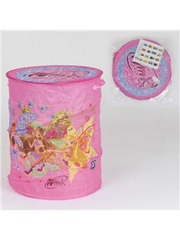 Корзина для игрушек А 01067 (60) в кульке [78076]