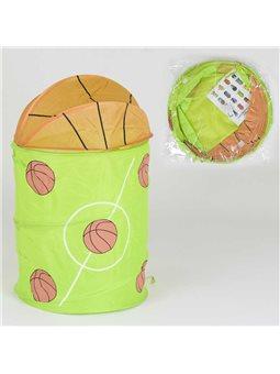 Корзина для игрушек А 01455 (60) в кульке [78080]