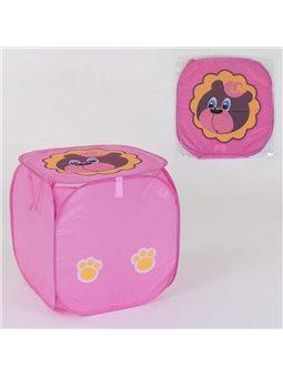 Корзина для игрушек С 36579 (120) 45х46см, в кульке [77796]