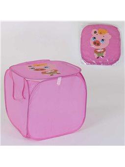 Корзина для игрушек С 36587 (120) 45х46см, в кульке [77818]