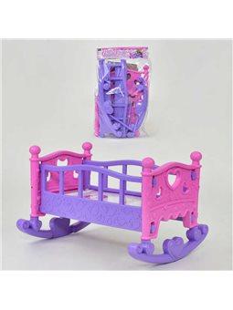 Кроватка для кукол 889-194 (48) в кульке [64065]