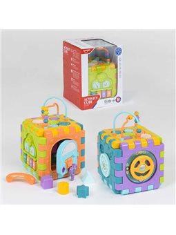Куб Логический НЕ 0527 (12) звуковые и световые эффекты, в коробке [74610]