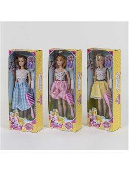 Кукла 7738 А (96/2) 3 вида, с аксессуарами, в коробке [82103]