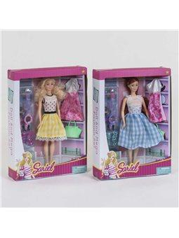 Кукла 7758 В (60/2) 2 вида, с аксессуарами, в коробке [81972]