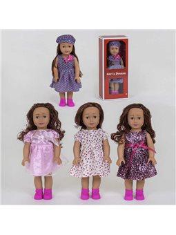 Кукла 8920 А (24/2) 4 вида, 45см, 1шт в коробке [82393]