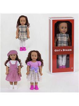 Кукла 8920 С (24/2) 3 вида, 45 см, в корбке [82335]