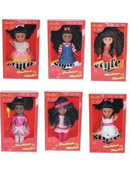 Кукла YY 8824 A-F (24/2) 6 видов, в коробке [83166]