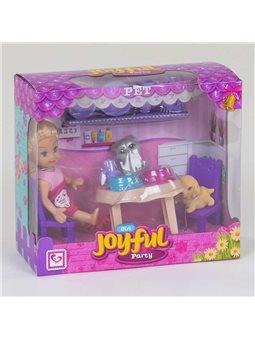"""Кукла К 899-81 """"Вечеринка с питомцами""""(96/2) в коробке [79505]"""