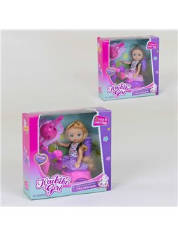 Кукла с мопедом BLD 229 (96/2) 2 вида, в коробке [79449]