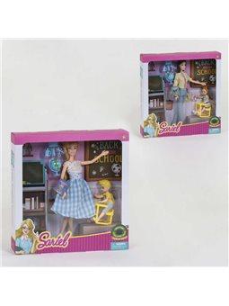 Кукла Учитель 7760 А (36/2) 2 вида, с аксессуарами, в коробке [82104]