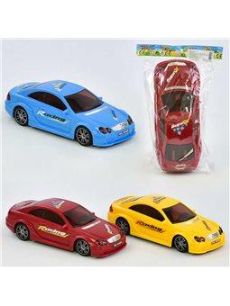Машина 66 AB (120) 3 цвета, в кульке [70038]