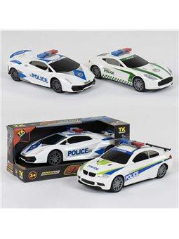 """Машина GT 99091 """"Полиция"""" (60/2) TK Group, 3 вида, свет, звук, инерция, в коробке [81235]"""