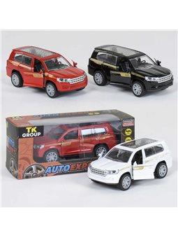 """Машина металлопластик S 29040 (96/2) """"TK GROUP"""", 3 цвета, инерция, открываются двери, в коробке [81086]"""