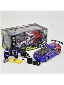 Машина на р/у 333 - Р013 (16) на аккумуляторе 7.2V, подсветка, 2 цвета, в коробке [62679]