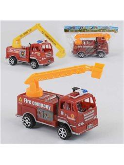 Машина Пожарная 6898 (240/2) инерция, 2 вида, 1шт в кульке [77354]