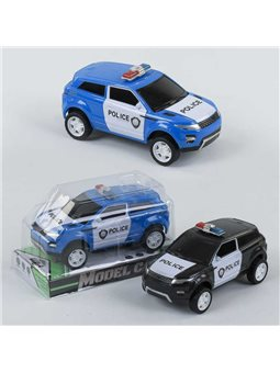 Машина Полиция 333-126 (240/2) инерция, 2 цвета, в слюде [77336]