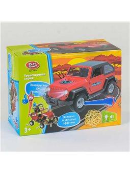Машина-конструктор 1370 (48) Play Smart, свет, звук, в коробке [79791]