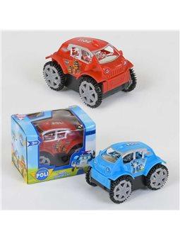 "Машинка-перевертыш GS 108 ""Поли"" (360) 2 вида, на батарейке, в коробке [48295]"