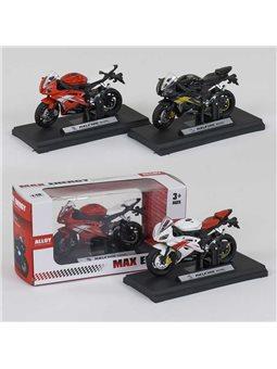 Мотоцикл металлопластик HX 812 (240/5) 3 цвета, в коробке [79005]