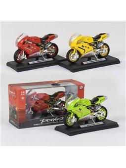 Мотоцикл НХ 780 (240/5) 3 цвета, свет, звук, в коробке [78772]