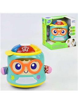 Музыкальная игра 3122 Счастливый младенец (12) звук, свет, движение, английская озвучка, в коробке [69032]