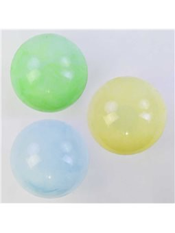 Мяч резиновый С 34241-1 (500) 3 цвета, 60 грамм, перламутровый [74981]