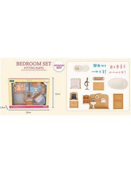 """Набор мебели для ванной комнаты Т 03 (36) """"Счастливая семья"""", в коробке [82895]"""