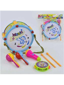 Набор музыкальных инструментов 9098-1 (30) в кульке [72167]