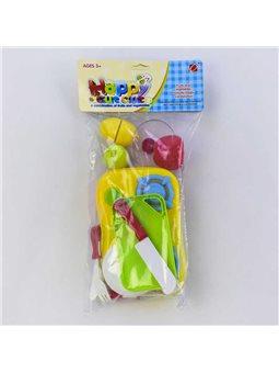 Набор посуды 666-30 (120) продукты НА ЛИПУЧКАХ, в кульке [73901]