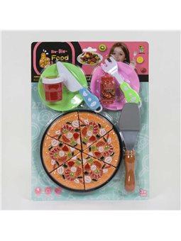"""Набор продуктов """"Пицца"""" 848-22 I (96) на липучках, на листе [81975]"""