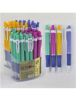 Набор шариковых ручек С 37073 (40) синяя паста/ЦЕНА ЗА УПАКОВКУ 50ШТ/ диаметр пишущего узла 0,8 мм [77196]