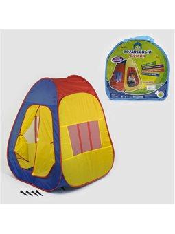 Палатка 1001 М (18) 105х88х86 см, с колышками, в сумке [36771]