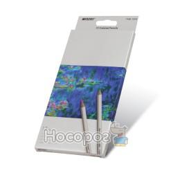Карандаши цветные Marco 7100-12CB