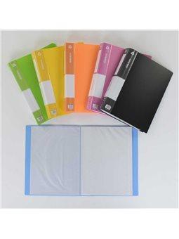 Папка для бумаг с файлами С 36915 (96) 6 цветов, 60 файлов [77259]