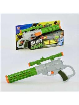 Пистолет с мягкими патронами 566 (48/2) в коробке [72313]