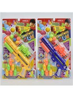 Пистолет с шариками 648-19 (48) 2 вида, на листе [67688]