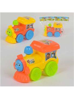 Поезд заводной 209 А (300/2) 2 вида, 1шт в кульке [80073]