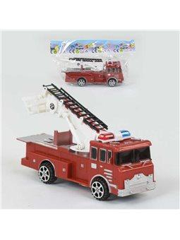 Пожарная машина 666 (288/2) инерция, 1шт в кульке [77614]