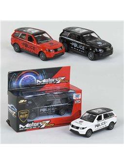 Полицейская машина К 135 А-22 (240) 3 цвета, металлическая, в коробке [69903]