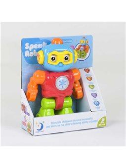 Робот 2209-14 (36/2) свет, звук, записывает голос, говорит на англ.языке, в коробке [78672]