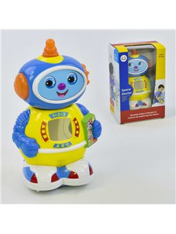 Робот Космический доктор 506 (48/2) песня на англ. языке, подсветка, движение от батареек, свет, в коробке [22802]