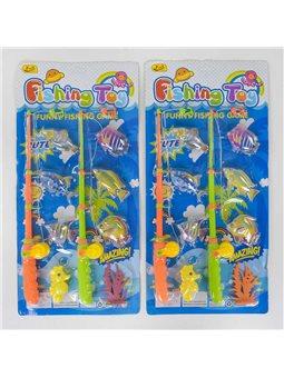 Рыбалка 8206 К (96/2) с магнитом, 2 вида, на листе [42530]