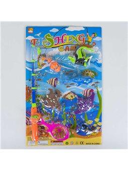 Рыбалка магнитная 13580 (48/2) на листе [67679]