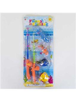 Рыбалка магнитная 13591 (72) 2 удочки, на листе [61106]