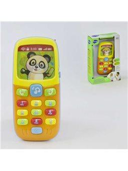 Телефон музыкальный 956 (96/2) подсветка, англ.озвучивание цифр, в коробке [70306]