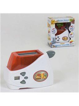 Тостер детский 6001 N (36) таймер, звук, на батарейках, в коробке [72124]