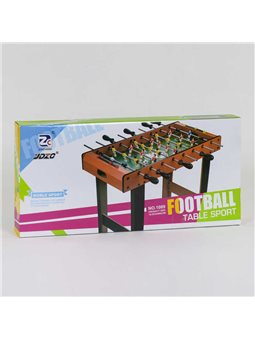Футбол 1089 (4) напольный, деревянный, на штангах, в коробке [81573]