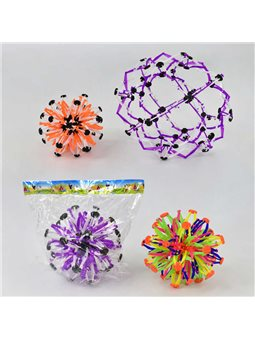 Шар-сфера F 22323 (120) 3 цвета, 1шт в кульке [65733]